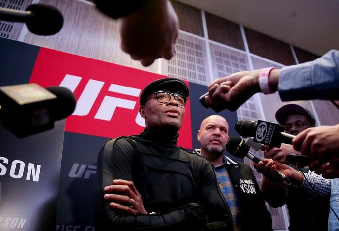 Anderson Silva UFC Londres (Foto: Getty Images)