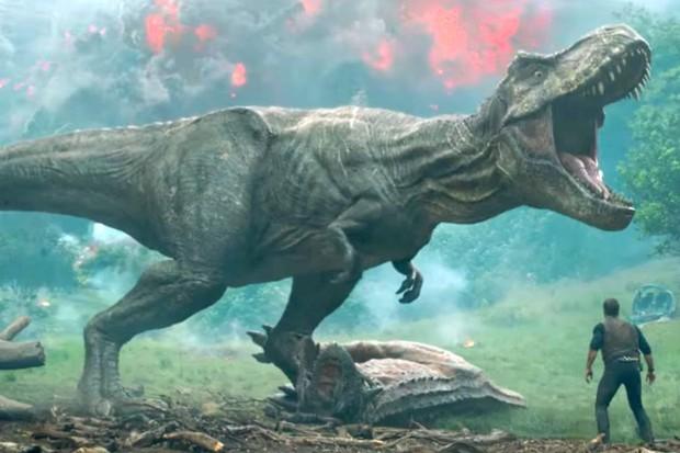Trailer de Jurassic World: Reino Ameaçado (Foto: reprodução)