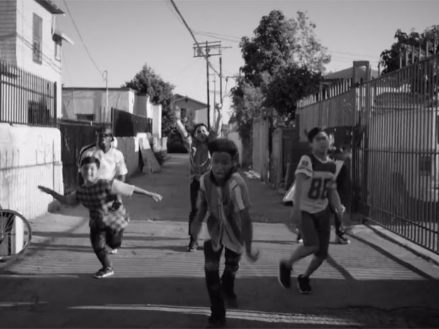 Cena do novo clipe de 'Say say say', parceria de Paul McCartney e Michael Jackson (Foto: Divulgação)
