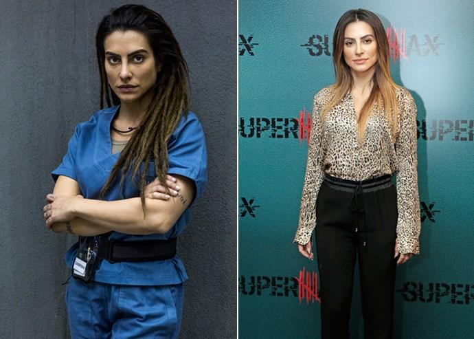 Cleo Pires adotou dreads para a personagem de 'Supermax' (Foto: Ellen Soares/Artur Meninea/Gshow)