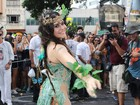 Famosos curtem blocos carnavalescos no Rio e em São Paulo