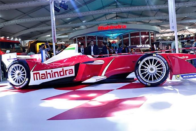 Carro da Mahindra Racing, que Bruno Senna pilotará na Fórmula E (Foto: Divulgação)