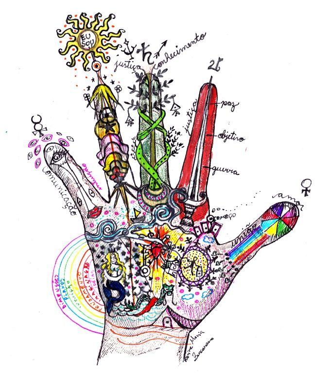 Quiróloga Karine Maria Zancanaro diz que é possível analisar personalidade das pessoas através do estudo das mãos (Foto: Divulgação: Karine Maria Zancanaro)