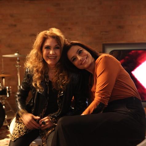Wanderléa e Valéria Monteiro (Foto: Divulgação)