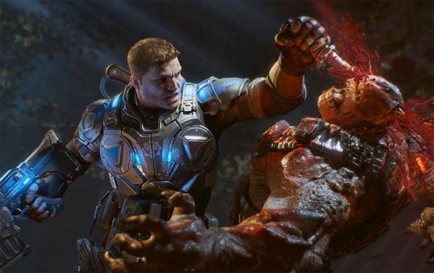 'Gears of War 4' conta história de JD Fenix, filho de Marcus Fenix, e será lançado em 11 de outubro (Foto: Divulgação/Microsoft)