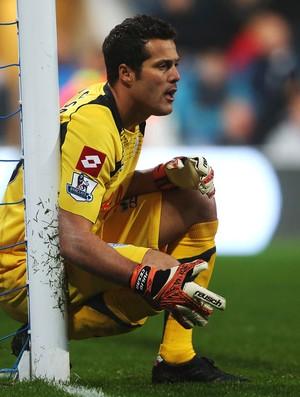 Julio Cesar goleiro Queens Park Rangers (Foto: Getty Images)