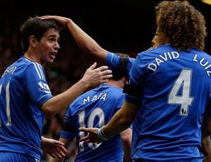 Oscar chelsea gol liverpool (Foto: Agência Reuters)