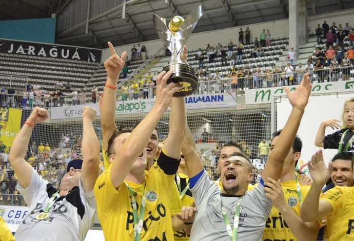 Jaraguá Sorocaba final Taça Brasil Futsal (Foto: Henrique Porto/Agência Avante!)