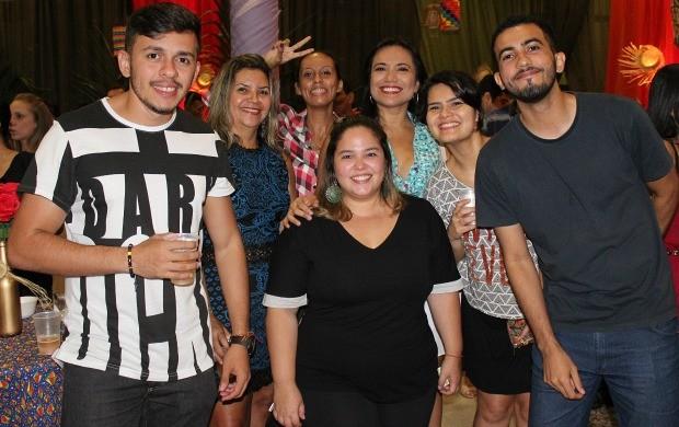 Profissionais de agências de publicidade de Manaus participam do Arraiá do Mídia (Foto: Katiúscia Monteiro/ Rede Amazônica)