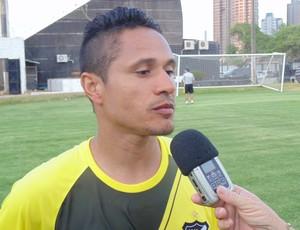 Fabio Bahia - volante do ABC (Foto: Carlos Arthur da Cruz/Globoesporte.com)