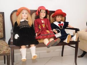 Bonecas fazem parte de acervo de museu (Foto: Divulgação/ Terezinha)