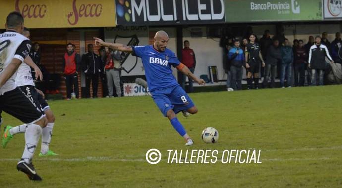 Guiñazu gol talleres (Foto: Reprodução / Talleres)