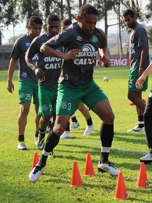 Rafael Lima em Minas (Foto: Cleberson Silva/Chapecoense)