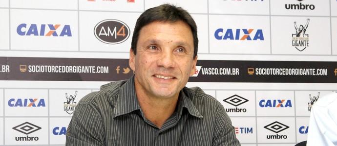 Zé Ricardo é apresentado no Vasco (Foto: Paulo Fernandes/Vasco.com.br)