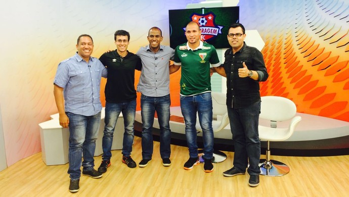Boleiragem FC 13 recebe o atacante Tito, do Operário VG (Foto: Derik Bueno/GloboEsporte.com)