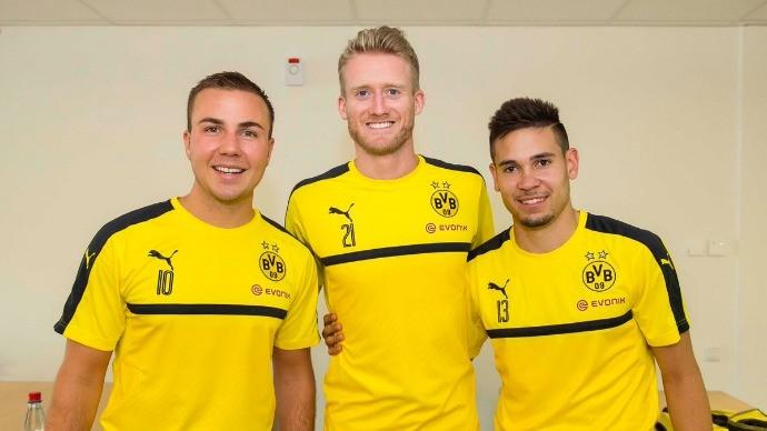 BLOG: Abre o olho, Bayern! Borussia Dortmund publica foto com três reforços de peso