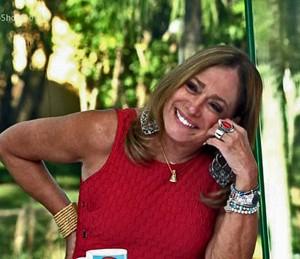 Susana Vieira no Vídeo Show (Foto: TV Globo)