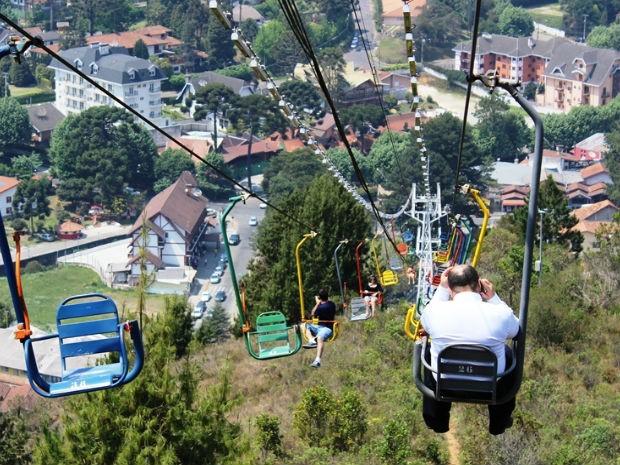 Teleférico Campos do Jordão (Foto: Christian Zichelli / EFCJ)