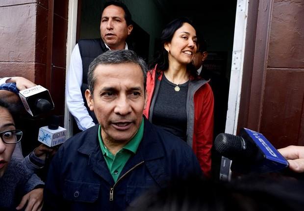 O ex-presidente do Peru, Ollanta Humala, foi preso por envolvimento no escândalo da Odebrecht (Foto: Raúl García Pereira/EFE)