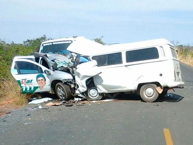 Candidato a deputado estadual morre em acidente no oeste da Bahia (Foto: Sigi Vilares/Blog do Sigi Vilares)