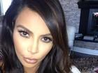 Kim Kardashian fala pela primeira vez sobre ser mãe: 'Emocionante'