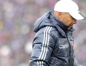 Jorge Sampaoli técnico da La U é expulso final Chile (Foto: EFE)