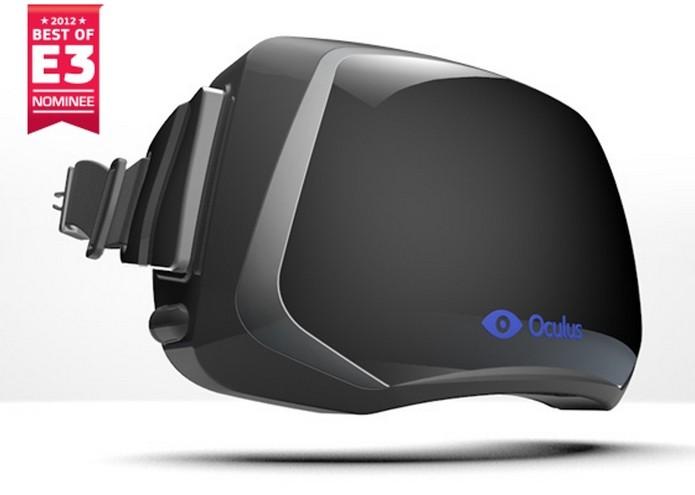 Modelo conceitual do Rift, divulgado nop Kickstarter (Foto: Divulgação/Oculus VR)