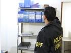 Polícia Federal, MPF e CGU realizam 'Operação Tyrannos' em MG e em SP