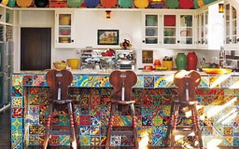 Famosos mostram bom gosto até na hora de decorar a cozinha: veja fotos