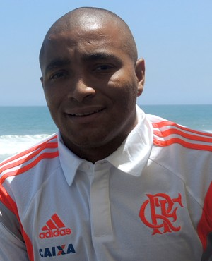 Anderson Pico, lateral-esquerdo do Flamengo.  (Foto: Janir Junior)