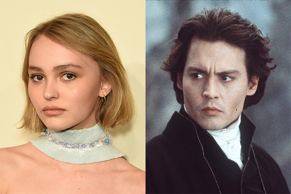 Lily-Rose e Johnny Depp (Foto: Getty Images)