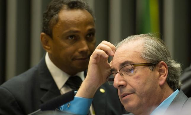 Sibá Machado e Eduardo Cunha