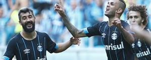 Grêmio derrota o Atlético-MG  e esquenta a briga pelo vice (Lucas Uebel/Divulgação)
