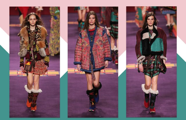 Etro, inverno 2018 (Foto: Antonio Barros, Getty Images e ImaxTree)