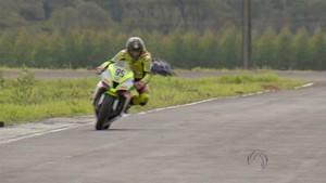 GP MS de Motovelocidade (Foto: Reprodução/TV Morena)
