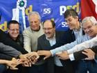 Aliança entre PMDB e PSD é oficializada para eleições no RS