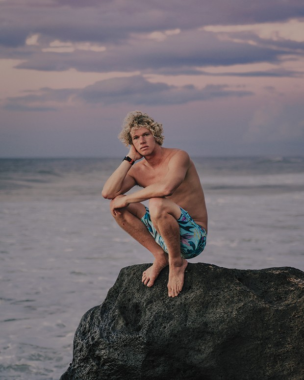 *** Local Caption *** John John Florence; (Foto: MARK MAHANEY)
