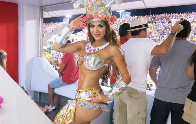 Carnaval - Sapucaí - Rossana Torales, Nutricionista Boavista (Foto: Jessica Mello)