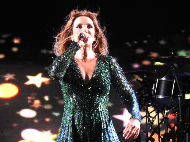 Cantora apresentou músicas da época da Banda Eva (Foto: Ive Rylo/G1 AM)