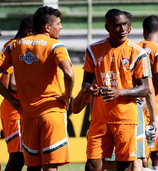 """""""é triste"""" (Mailson Santana / Fluminense FC)"""