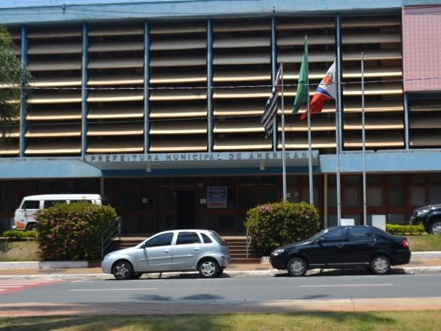 A sede da Prefeitura de Americana, SP (Foto: Fernando Pacífico / G1 Campinas)