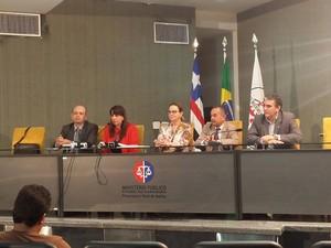 Promotora Lítia Cavalcante fala sobre ação do MP que foi acatada pela Justiça (Foto: Lucas Vieira/G1)