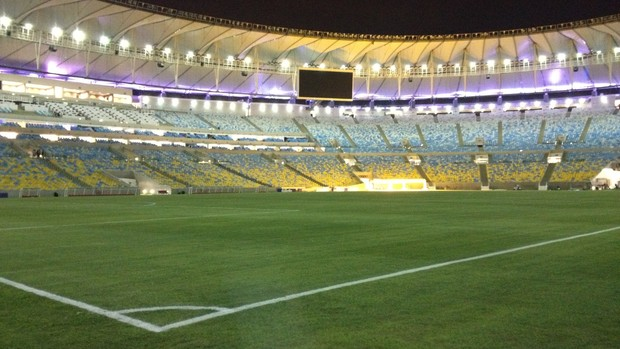 Maracanã após Brasil x Inglaterra (Foto: Thiago Correia)