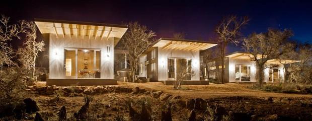 casas-pequenas-casais-amigos-texas-EUA-chalés (Foto: Reprodução)