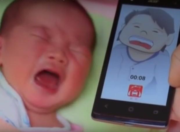 Aplicativo promete identificar motivo de choro do bebê (Foto: Divulgação)