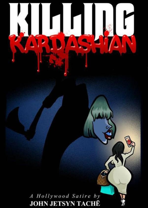 Livro Killing Kardashians (Matando as Kardashians, em tradução livre) (Foto: Reprodução)