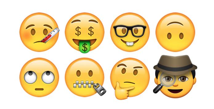 Novos emojis chegam ao iPhone com o iOS 9.1 (Foto: Reprodução/Emojipedia)