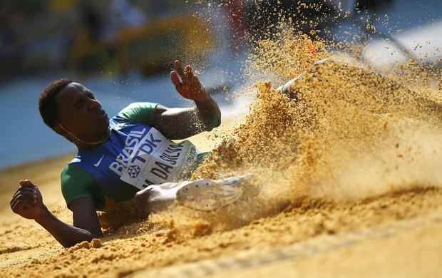 Mauro Vinicius da Silva, o Duda, Mundial de Atletismo em Moscou (Foto: Reuters)