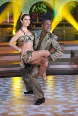 (Foto: Claudia Ohana na 'Dança dos famosos'/ Foto:TV Globo)