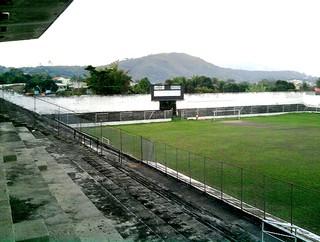 Estádio Ítalo Del Cima, Campo Grande, Rio de Janeiro (Foto: Renata Domingues / Globoesporte.com)